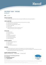 AS/NZS 1594 - HA300 - BlueScope Steel