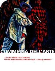 COMMEDIA DELL'ARTE - The Human Race Theatre Company