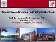 Koronarrevaskularisation – aus chirurgischer Sicht - pci.info