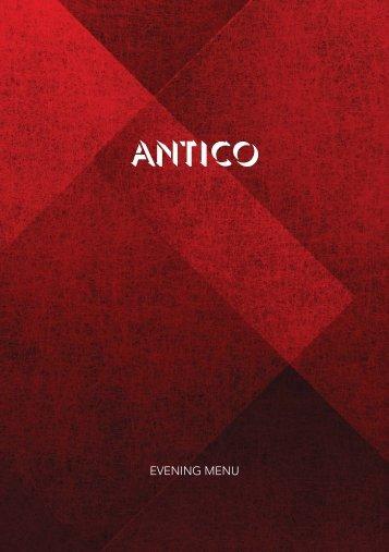 OP2532_Antico Evening Menu 2013 Web.indd - Orocco Pier