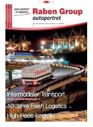 Intermodaler Transport - Raben Logistics Polska