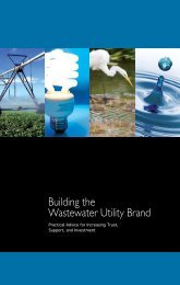 Building the Wastewater Utility Brand - Utility Branding Network