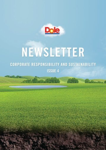 Archive: Issue 4 - Dole Sustainability