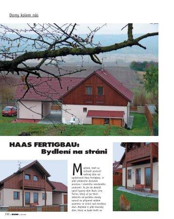 HAAS FERTIGBAU: Bydlení na stráni