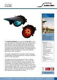Lock Signal S 145 LED - Pintsch Aben