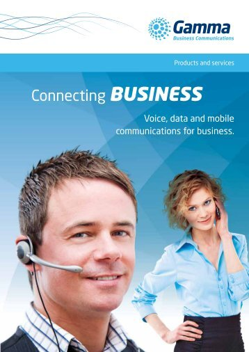 Channel Partner Brochure - Gamma Business Communications