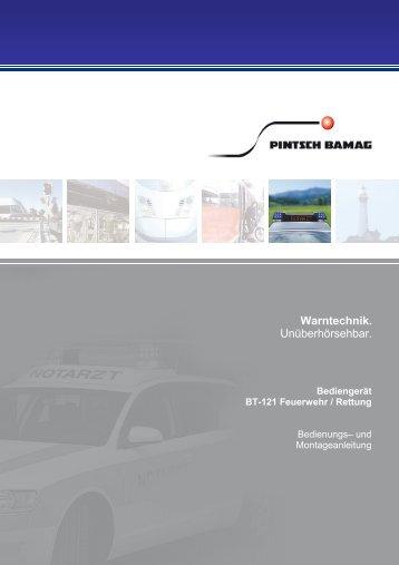 5028 8442 084 956 BT-121 Feuerwehr Rettung ... - Pintsch Bamag