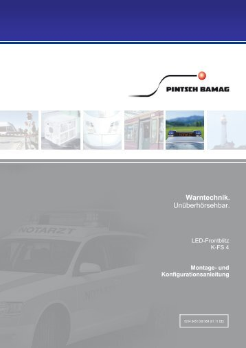 Montage und Bedienungsanleitung K-FS 4 - Pintsch Bamag
