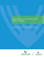 VancouVer as a city-region in the global economy - Business ...