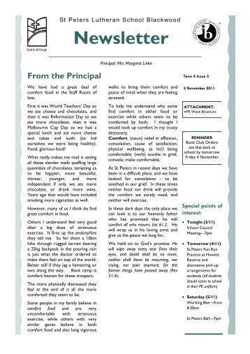 term 4 issue 3 2011.pub - St Peters Lutheran School
