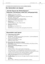Der Kaiserdom von Speyer - unesco-projekt-schulen Deutschland
