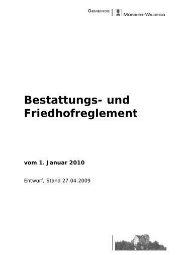 Bestattungs - Gemeinde Möriken-Wildegg
