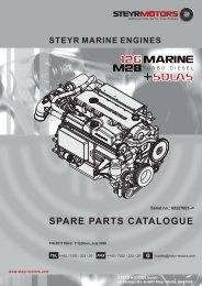 SPARE PARTS CATALOGUE - Steyr Motors