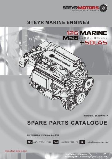 SPARE PARTS CATALOGUE - Steyr Motors