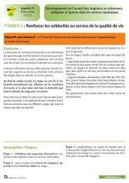 Fiche action n° 15 Développement de l'accueil des stagiaires en ...