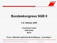 Bundeskongress SGB II - Bundeskongress-sgb2.de