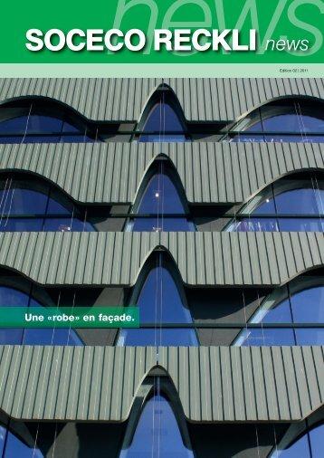 """Une """"robe"""" en façade. - RECKLI GmbH: Home"""