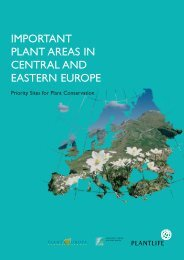 important plant areas in central and eastern europe - hirc.botanic.hr ...