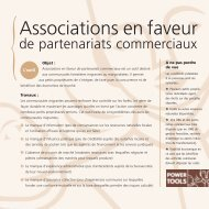 f03 associations - Power Tools: for policy influence in natural ...