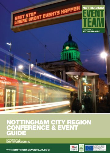 Download our brochure - Experience Nottinghamshire