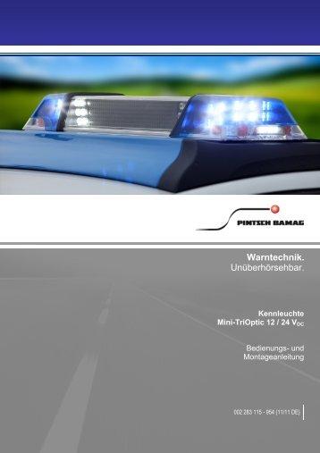 002283115954_Mini-TriOptik_12V_24V (11.11 DE ... - Pintsch Bamag