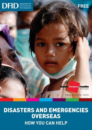 Disasters and emergencies overseas - World Volunteer Web