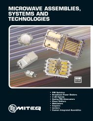 microwave assemblies, systems and technologies - Aptecelectronics ...