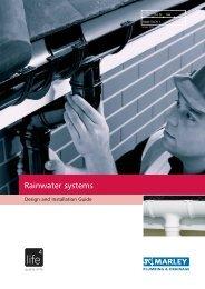 Marley Rainwater Design & Installation Guide - BHL.co.uk