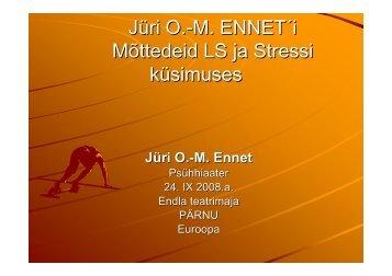 Stressi ja läbipõlemise vältimine