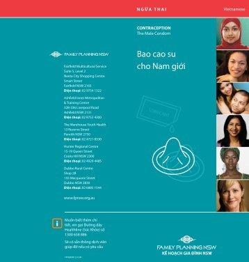 Bao cao su cho Nam giới - the NSW Multicultural Health ...