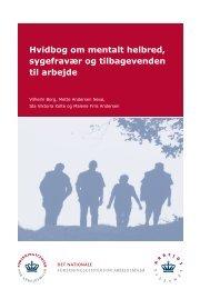 hvidbog om mentalt helbred - Dansk Psykiatrisk Selskab
