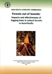Forests out of bounds - APAFRI-Asia Pacific Association of Forestry ...