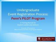 On Campus - University of Pennsylvania