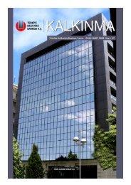 Kalkınma Dergisi 47.Sayı - Türkiye Kalkınma Bankası
