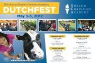 here - Shalom Christian Academy