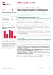 LGT Strategy 4 Years (CHF)