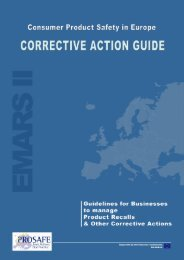 Corrective Action Guide - Prosafe