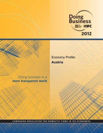 Austria - Doing Business