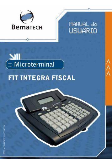 Manual do Usuário BemaSale Fit Integra - Americantec Automação ...