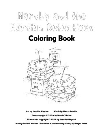 Marsby Coloring - Images Press