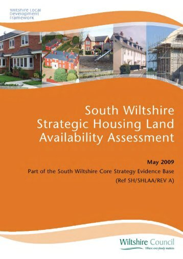 South Wiltshire Strategic Housing Land ... - Wiltshire Council