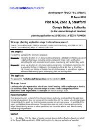 Plot N24 Stratford City Report - legacy london - Greater London ...