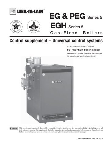 Weil Mclain 76 Series Boiler Manual - User Guide Manual That Easy-to ...
