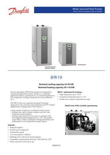 BW10 datablad