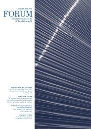 Aktuelle Informationen der LGT Bank (Schweiz) AG Ausgabe April 2010
