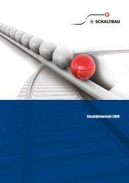 Geschäftsbericht 2009 - Schaltbau Holding AG