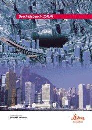 Geschäftsbericht 2001/02