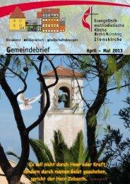 Gemeindebrief Apr-Mai 2013mail - Zionsgemeinde