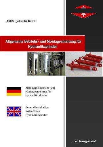 Allgemeine Betriebs - Aros Hydraulik GmbH