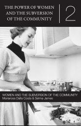the power of women and the subversion of the community - E-Flux